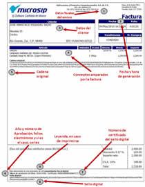formato de facturas